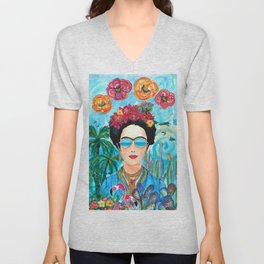Frida Aruba Unisex V-Neck
