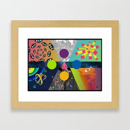 pschedelic thing Framed Art Print