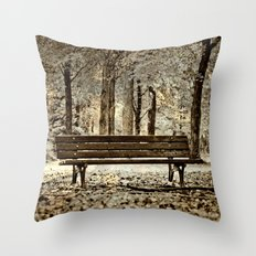 A place to meditate Throw Pillow