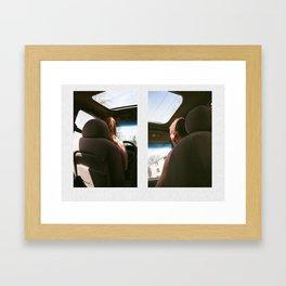 U REMIND ME OF MY BIMMER  Framed Art Print