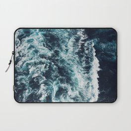 DARK BLUE OCEAN Laptop Sleeve