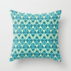 Doctor Who: Cybermen Pattern Throw Pillow