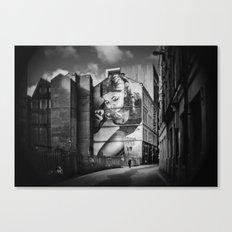 Mitchell Street Art Canvas Print