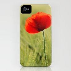 poppy iPhone (4, 4s) Slim Case