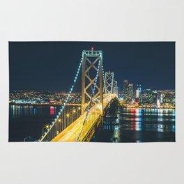Bay Bridge Long Exposure - San Francisco, California Rug