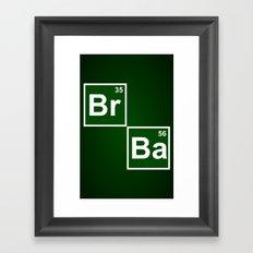 Breaking Bad 1 (Br 35 Pillow) Framed Art Print