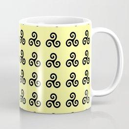 Triskele 2 -triskelion,triquètre,triscèle,spiral,celtic,Trisquelión,rotational Coffee Mug