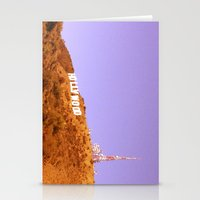 hollywood Stationery Cards featuring Hollywood by Rosy Sunrise