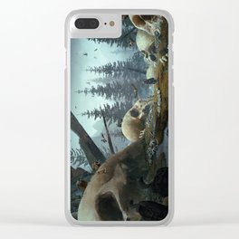 FALLEN TITANS Clear iPhone Case