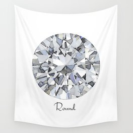 Round Wall Tapestry