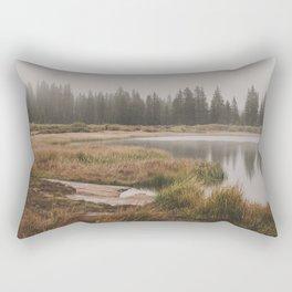 Foggy Colorado Morning Rectangular Pillow