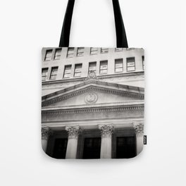 Federal Reserve Bank of Chicago Black and White Tote Bag