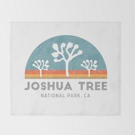 Joshua Tree National Park California Throw Blanket