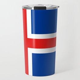 Flag of Iceland Travel Mug