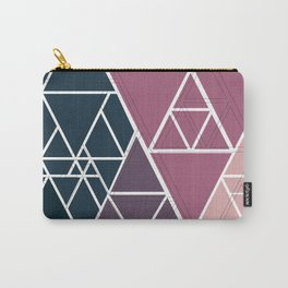 gradient triangles Carry-All Pouch