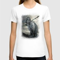 eric fan T-shirts featuring Armadillo by Eric Fan & Viviana Gonzalez by Viviana Gonzalez