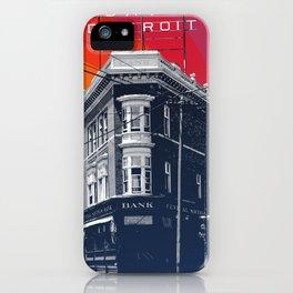 Save Detroit iPhone Case