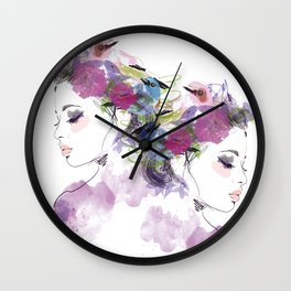 Like a bird Wall Clock