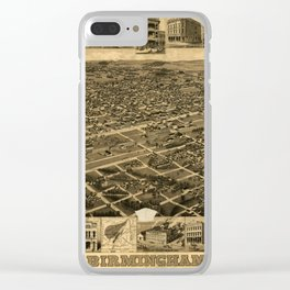 Birmingham Alabama 1885 Clear iPhone Case