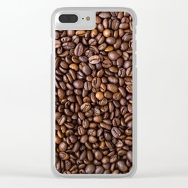 Beans Beans Clear iPhone Case
