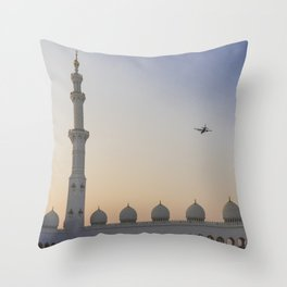 Sheikh Zayed Grand Mosque Throw Pillow