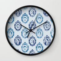 parks and recreation Wall Clocks featuring Parks Dept. by Emily