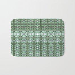 Designer Green Palms Environment Bath Mat