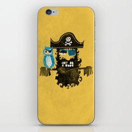 Trendy Pirate  iPhone Skin