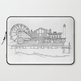 The Jersey Shore by the Downtown Doodler Laptop Sleeve