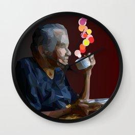 old women Wall Clock