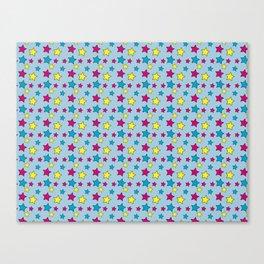 Vinnie Star 1 - Cornflower Canvas Print