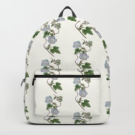 Ivy-Leaved Morning Glory Pattern Backpack