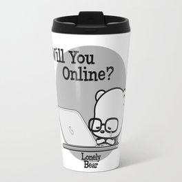 Will You Online? Travel Mug