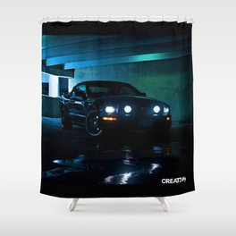 2006 Mustang - Photo Shower Curtain