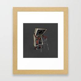 Old Gamer Framed Art Print
