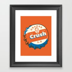 Denver's Orange Crush Defense TWO POINT OH! Framed Art Print