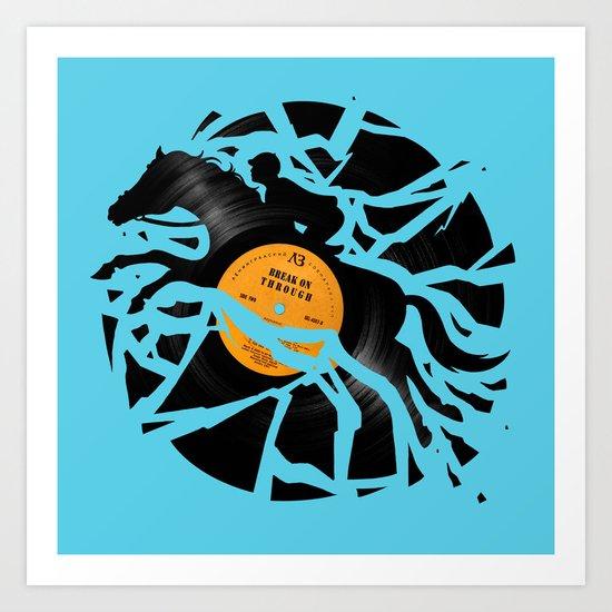 Disc Jockey Art Print