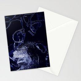 Inorganic blue 2 Stationery Cards