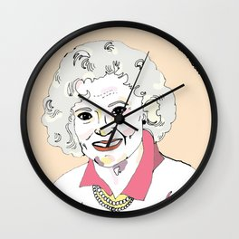 Rose Wall Clock