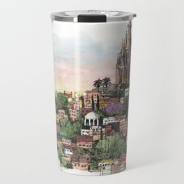 Sunset over San Miguel de Allende Travel Mug