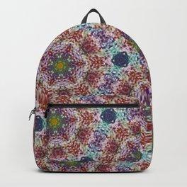 Glass Bead Kaleidoscope Backpack