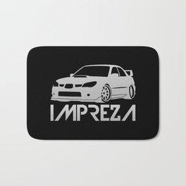Subaru Impreza 2006 - silver - Bath Mat