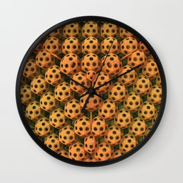 Little Speckled Balls Wall Clock