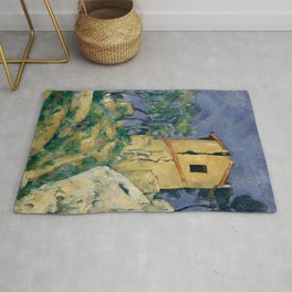 "Paul Cezanne ""The House with the Cracked Walls"" Rug"