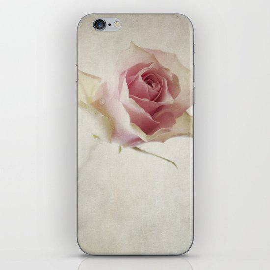 A Flower for You [Textured] iPhone & iPod Skin
