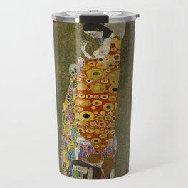 Gustav Klimt - Hope II Travel Mug