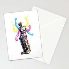 Venus de Milo is Made of Rock Stationery Cards