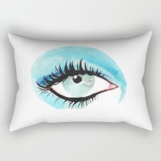 Bowie - Life on Mars? (right eye) Rectangular Pillow