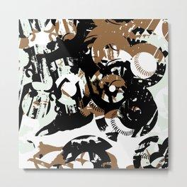 Bases and 8's Metal Print
