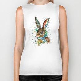 Bunny Rabbit - Real Bunny Biker Tank